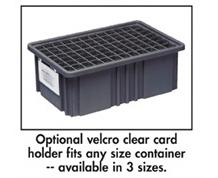 CARD HOLDERS FOR CONDUCTIVE DIVIDABLE GRID CONTAINER